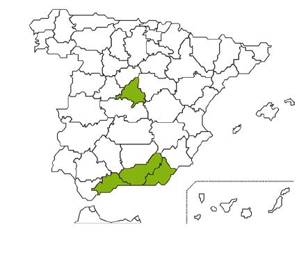 Mapa Caja Rural Granada