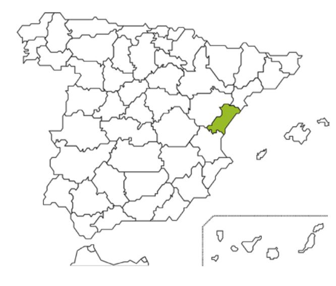 Mapa Caja Rural Vinaros