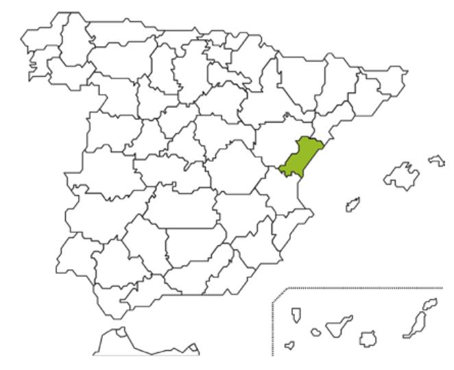 Mapa Caixa Rural Benicarló