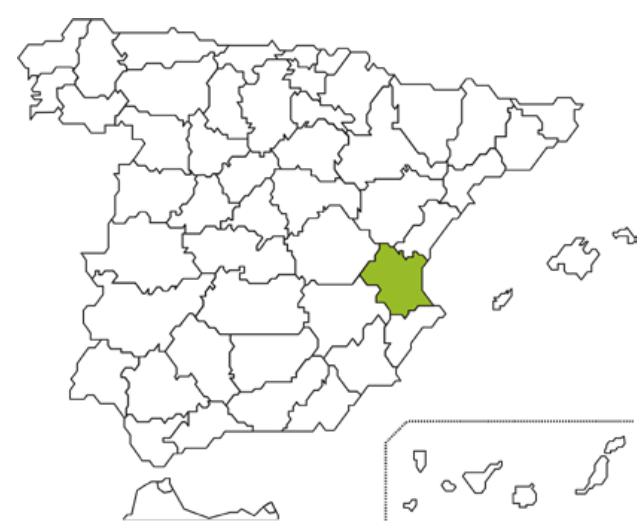 Mapa Caja Rural Albal