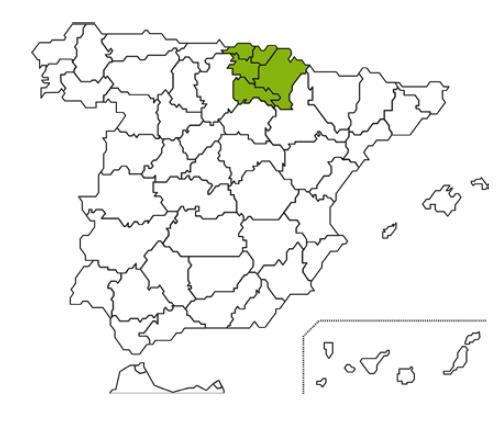 Mapa Caja Rural Navarra