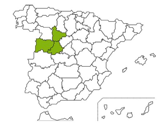mapa caja rural Salamanca